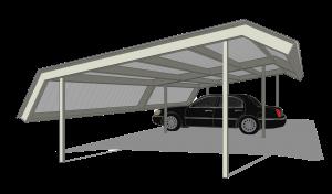 Carport Double Mansard