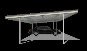 Carport Flat Top
