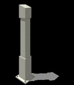 Coverworx Shelter Column Options