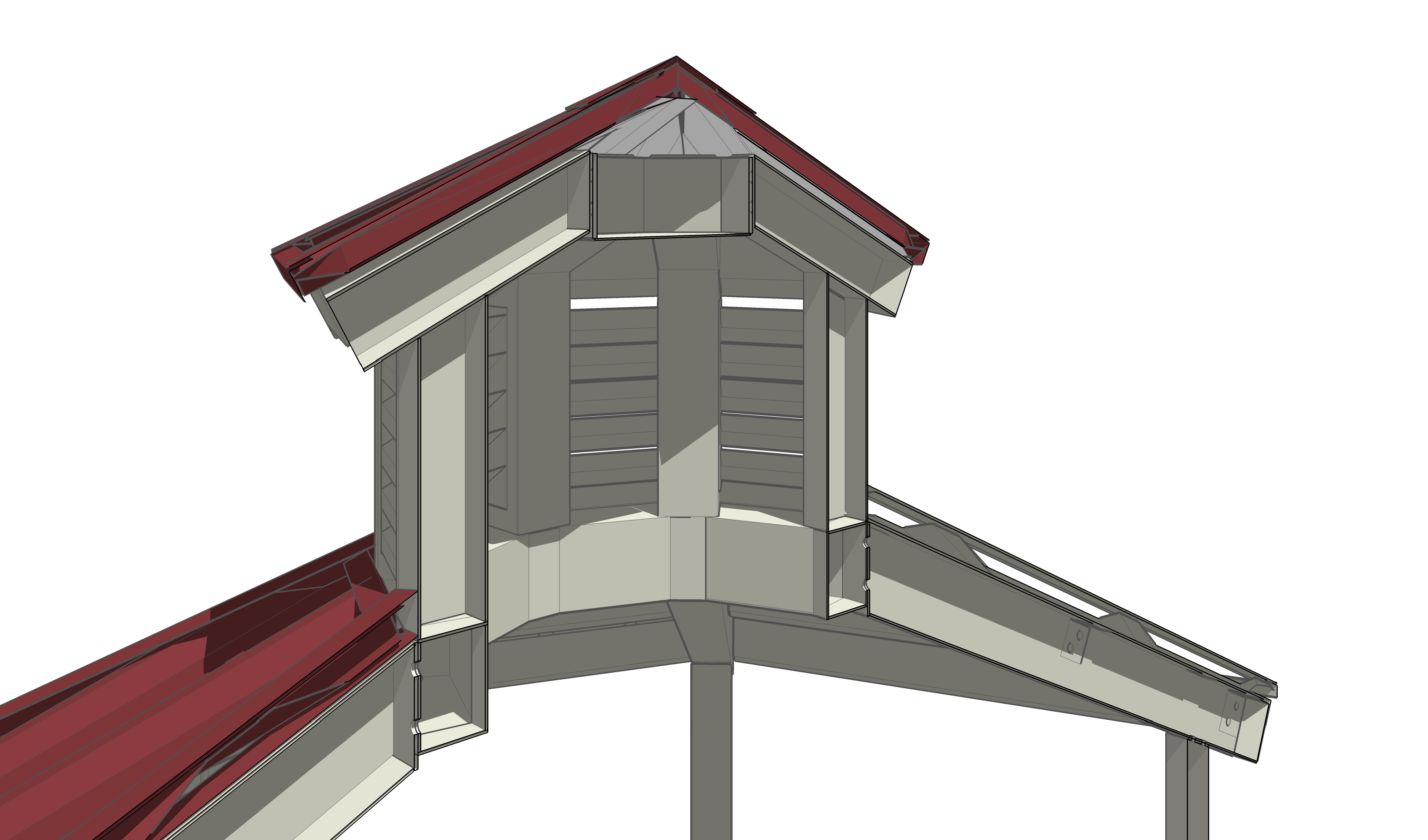Cupola options coverworx for Roof cupola plans