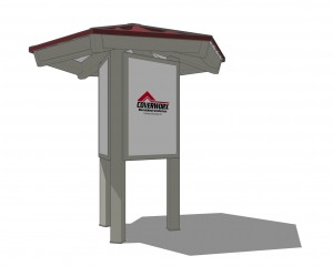 Kiosk Hexagonal