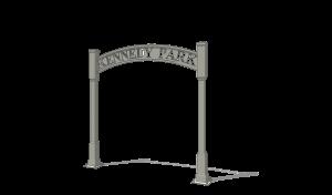 Trellis Entrance Sign 2